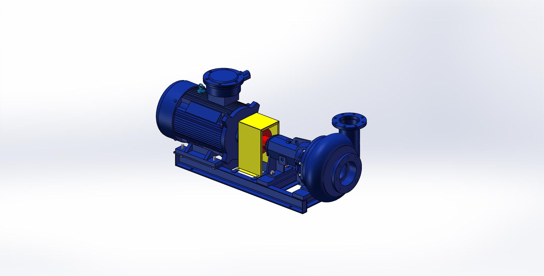 SB6×5車裝鉆機離心泵