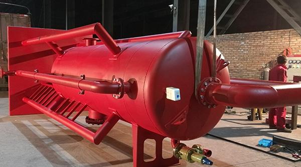 西安恒聯液氣分離器與點火裝置發往新疆
